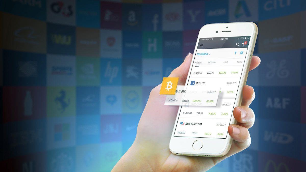eToro - handel na kryptowalutach - kopiuj transakcje najlepszych traderów