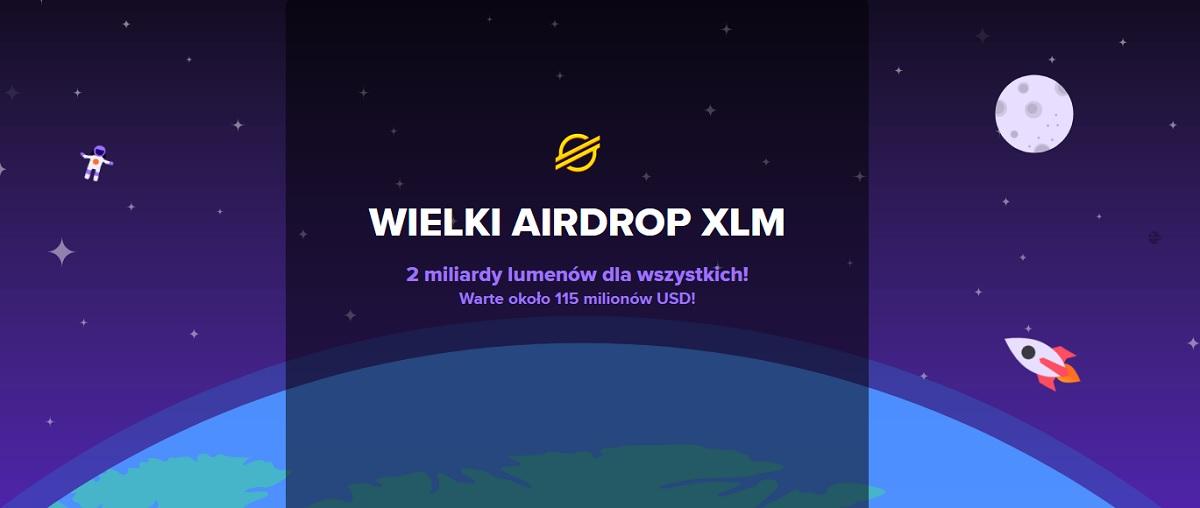 Airdrop Stellar i Keybase