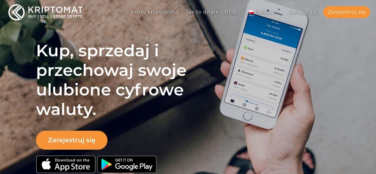 Kriptomat - giełda z estońską licencją dostępna w języku polskim