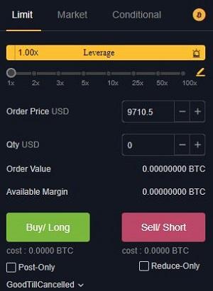 limit order bybit
