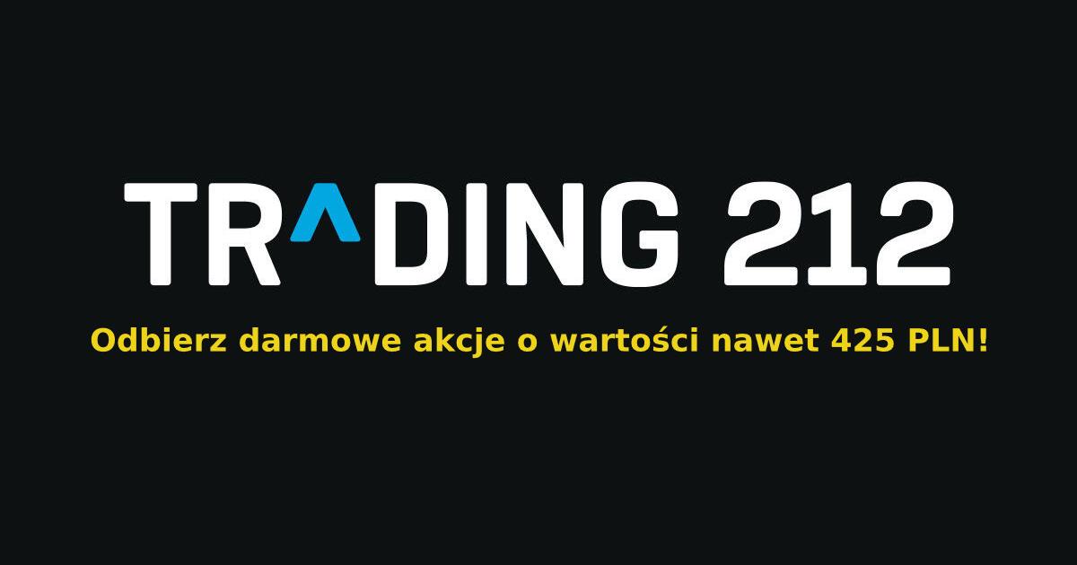 Odbierz za darmo nawet 425 PLN od Trading 212