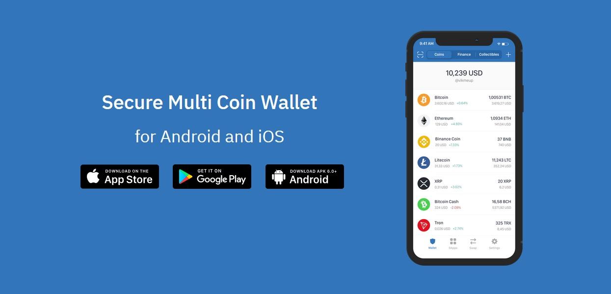 Darmowe 100 tokenów TWT od Trust Wallet (portfel Binance)