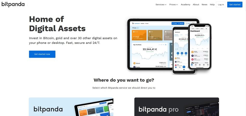 bitpanda - 4 miejsce w rankingu giełd bitcoin